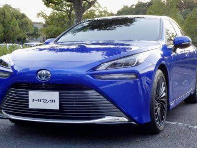 Toyota Hydrogen-engine vehicles
